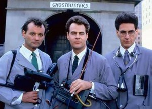 Ghostbusters movie image Harold Ramis, Bill Murray and Dan Aykroyd