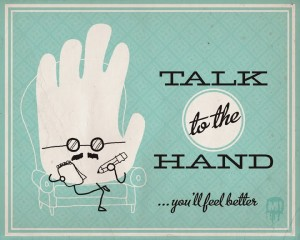 talk to the hand image