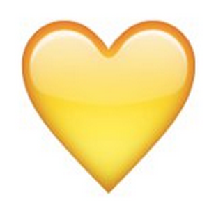 The Snapchat Emojis' TRUE Meaning - The Social Robot Yellow Heart Emoji