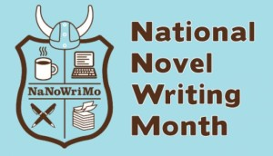 national novel writing month badge logo