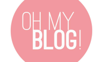 oh my blog graphic pink and white